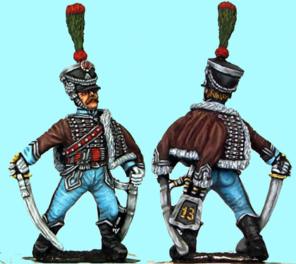 French 13th Hussar Officer