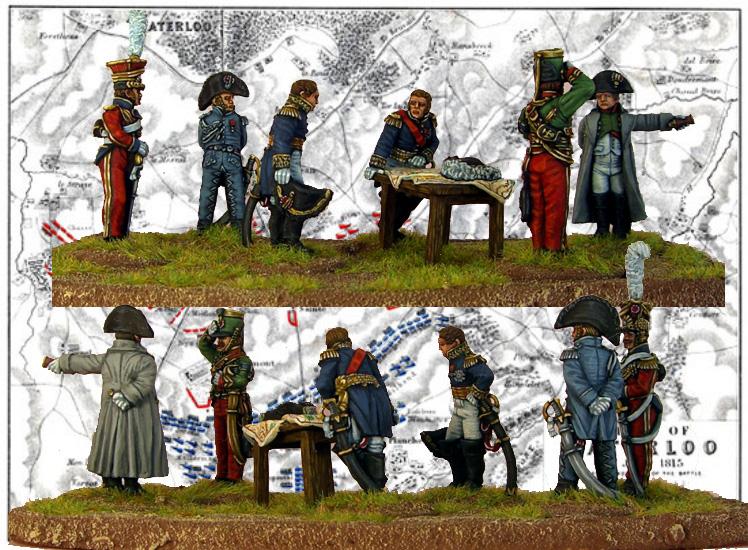 Napoleon and Staff No.2