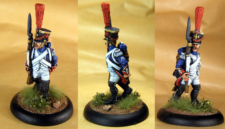 Front Rank Garde Fusilier - Grenadier