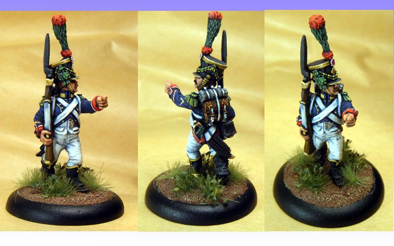 Front Rank Garde Voltigeur.