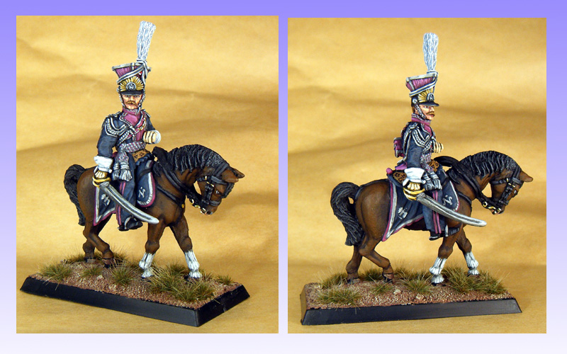 Front Rank Garde Polish Lancer Officer