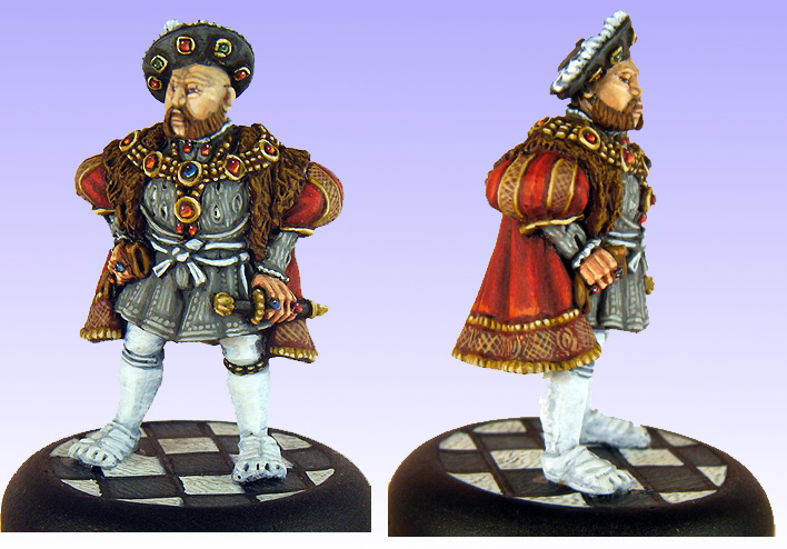 Henry VIII 28mm Copplestone Casting