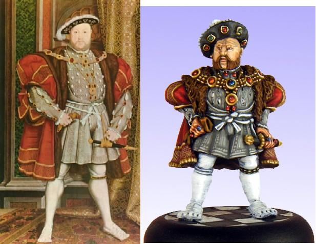 Henry VIII Comparison